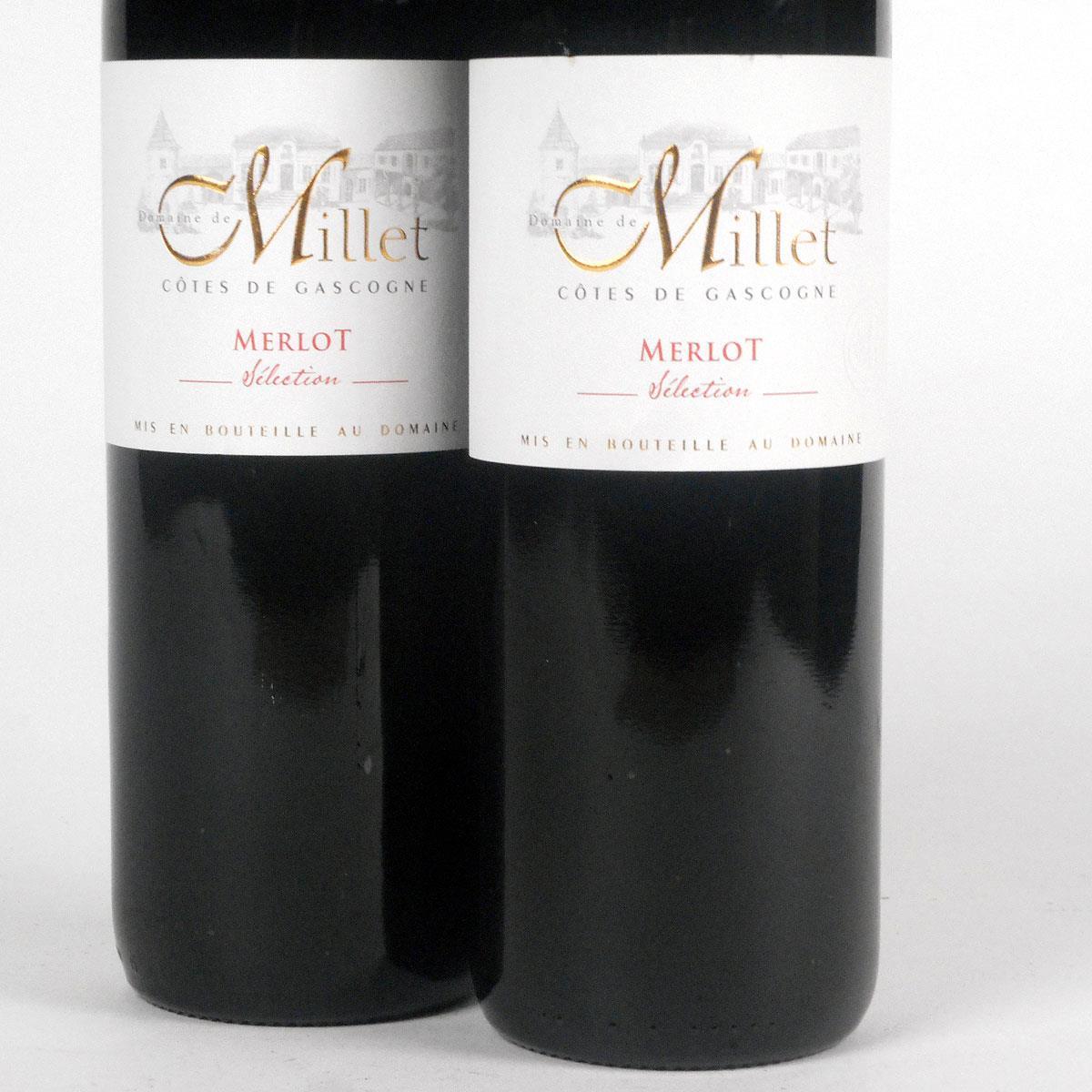 Côtes de Gascogne: Domaine Millet Merlot 2018