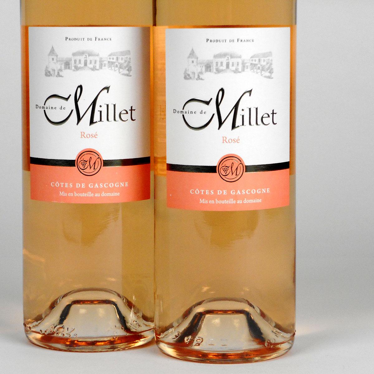 Côtes de Gascogne: Domaine Millet Rosé 2019