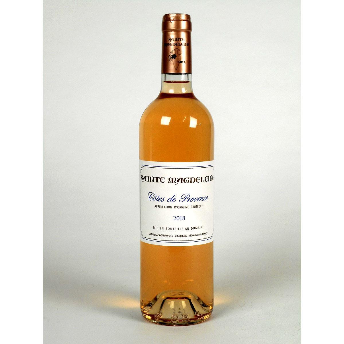 Côtes de Provence: Clos Sainte Magdeleine Rosé 2018 - Bottle