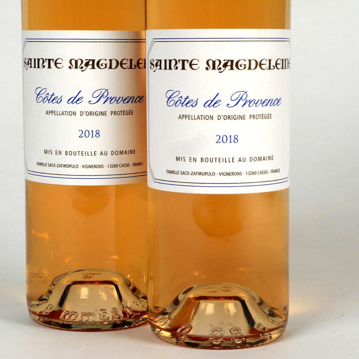 Côtes de Provence: Clos Sainte Magdeleine Rosé 2018