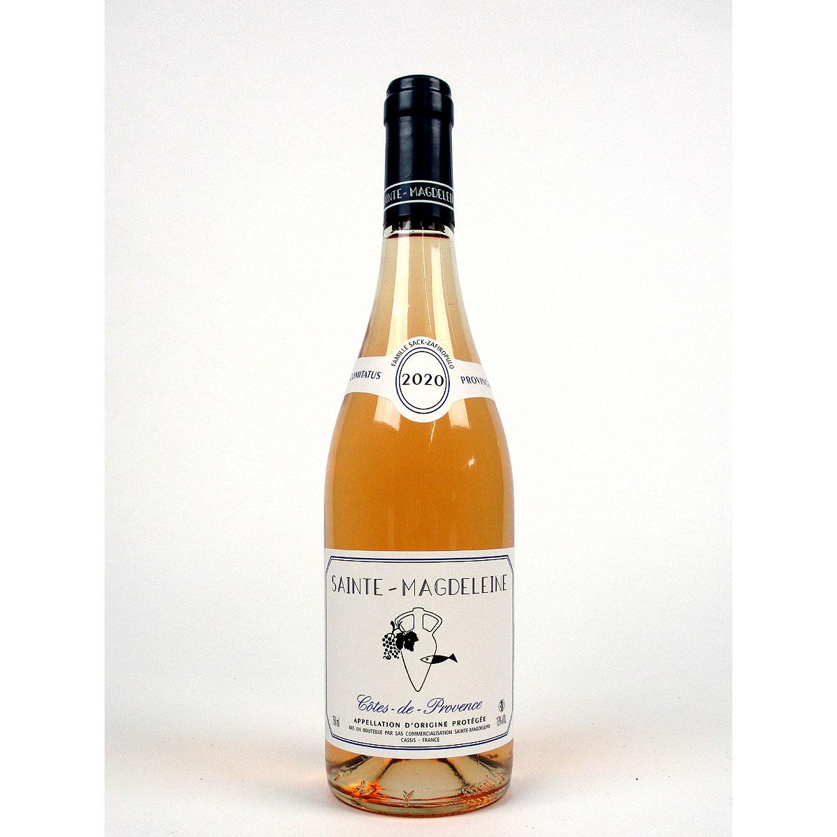 Côtes de Provence: Clos Sainte Magdeleine Rosé 2020 - Bottle