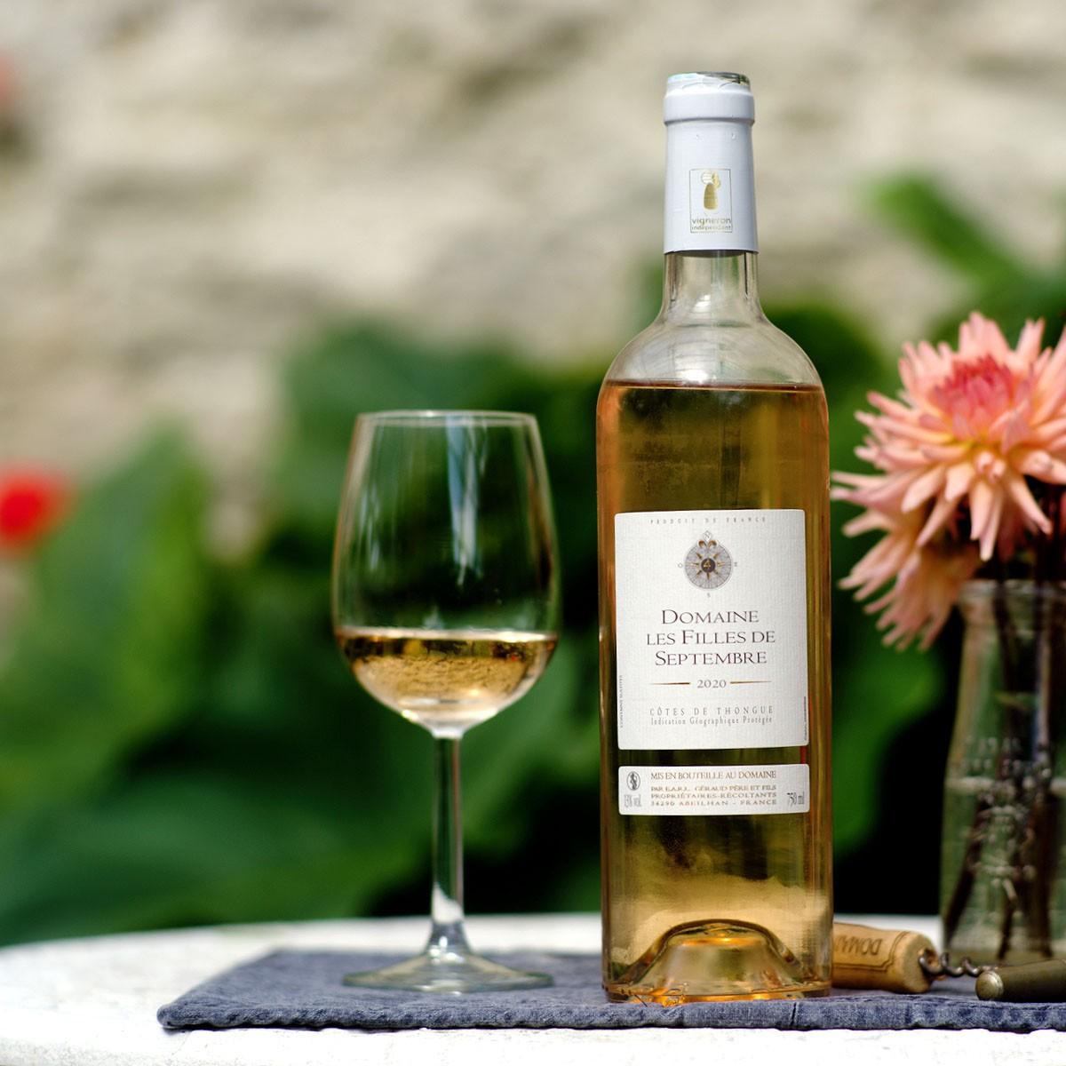 Côtes de Thongue: Domaine Les Filles de Septembre Rosé 2020 - Lifestyle