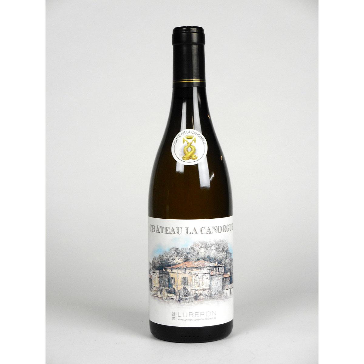 Côtes du Luberon: Château la Canorgue Blanc 2019 - Bottle