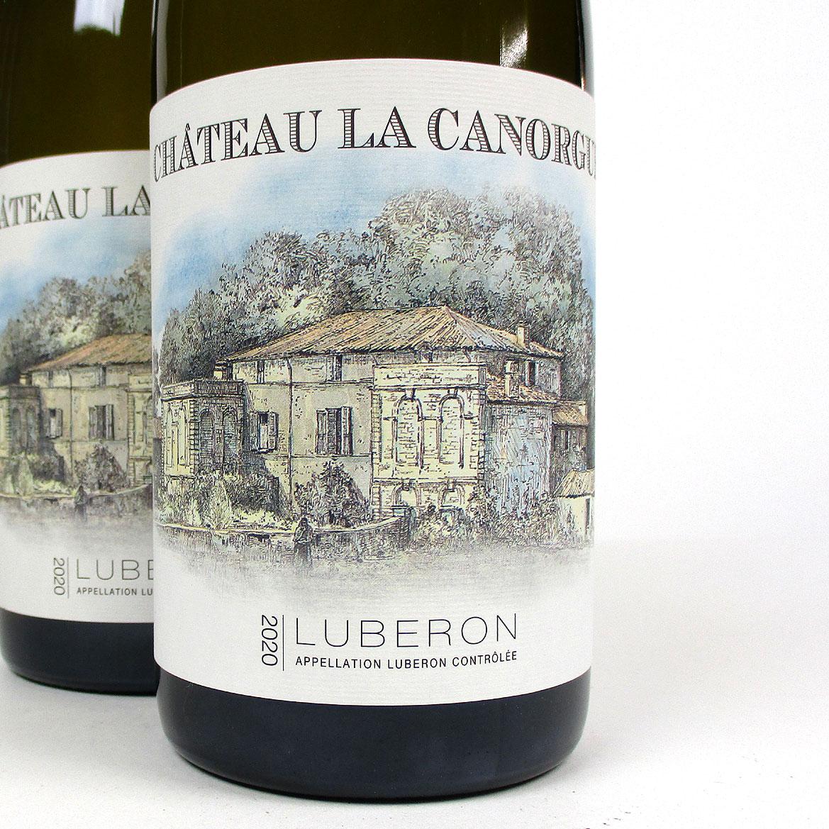 Côtes du Luberon: Château la Canorgue Blanc 2020