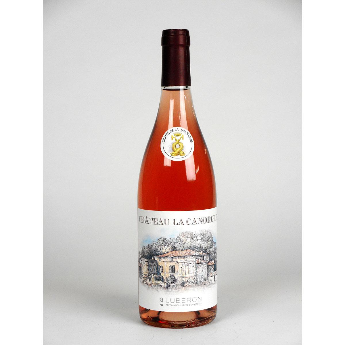 Côtes du Luberon: Château La Canorgue Rosé 2019 - Bottle
