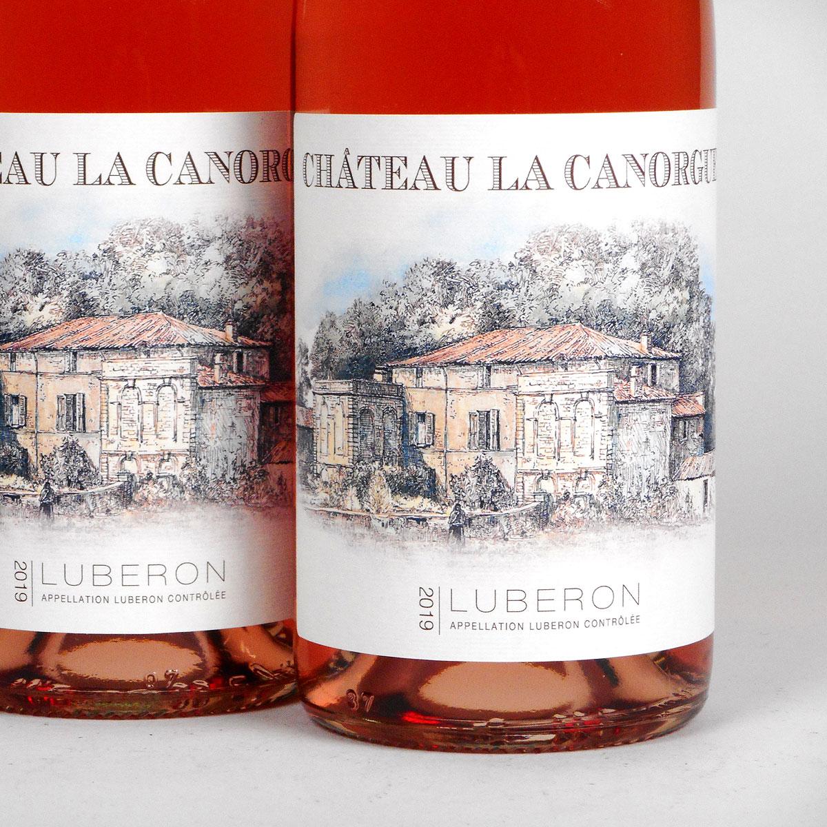 Côtes du Luberon: Château La Canorgue Rosé 2019