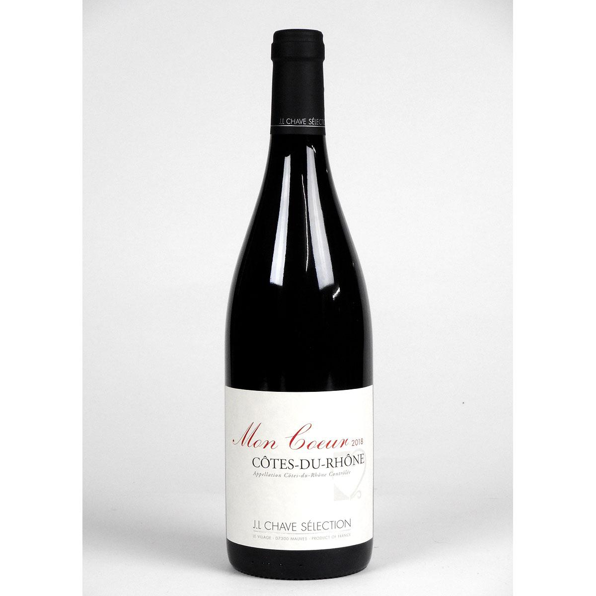 Côtes du Rhône: Jean-Louis Chave Sélection 'Mon Coeur' 2018 - Bottle