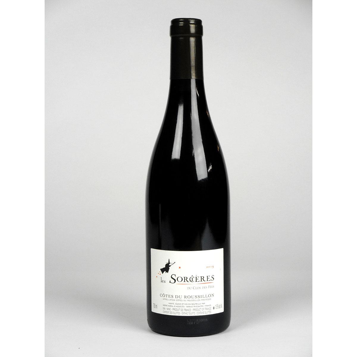Côtes du Roussillon: Les Sorcières du Clos des Fées Rouge 2018 - Bottle