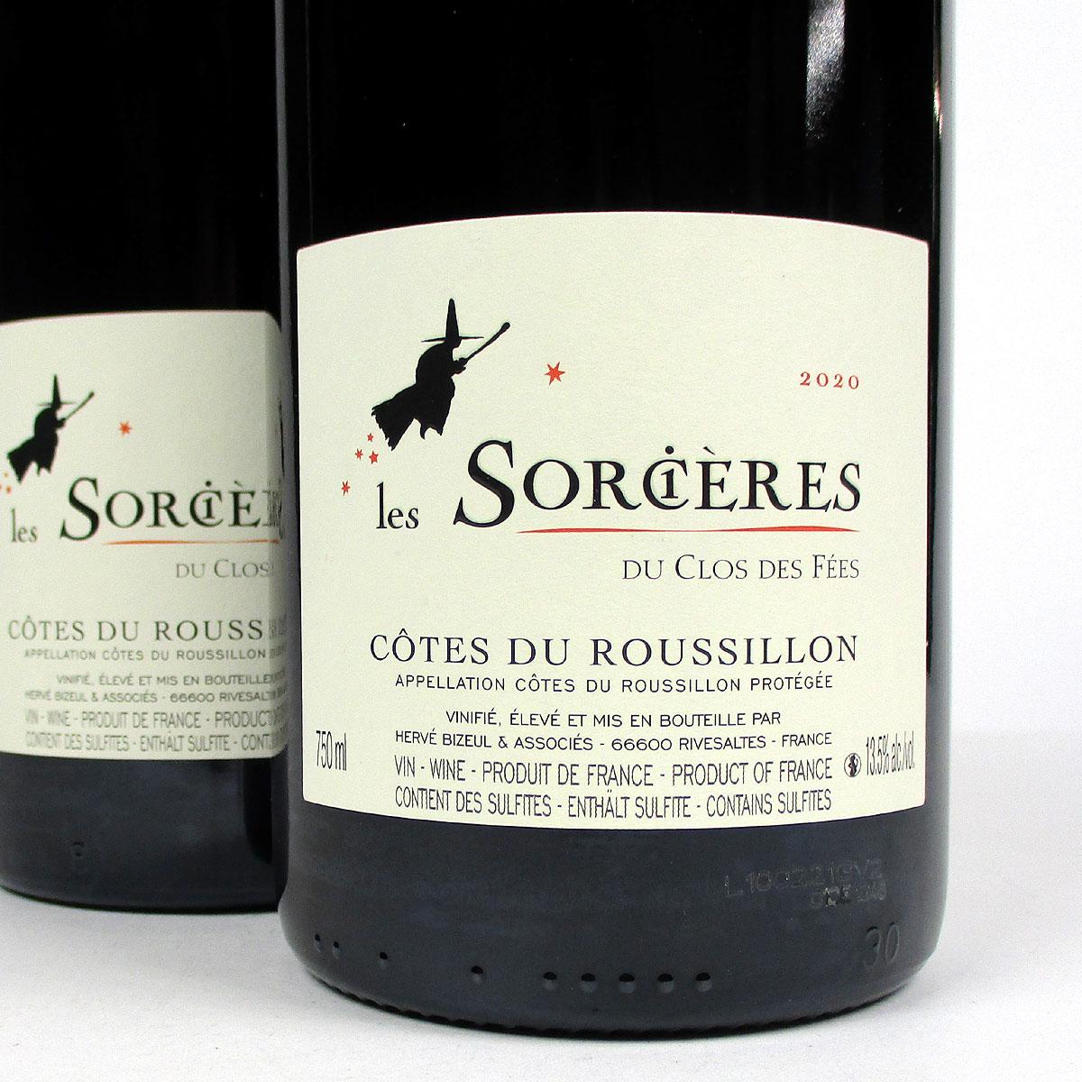 Côtes du Roussillon: Les Sorcières du Clos des Fées Rouge 2020