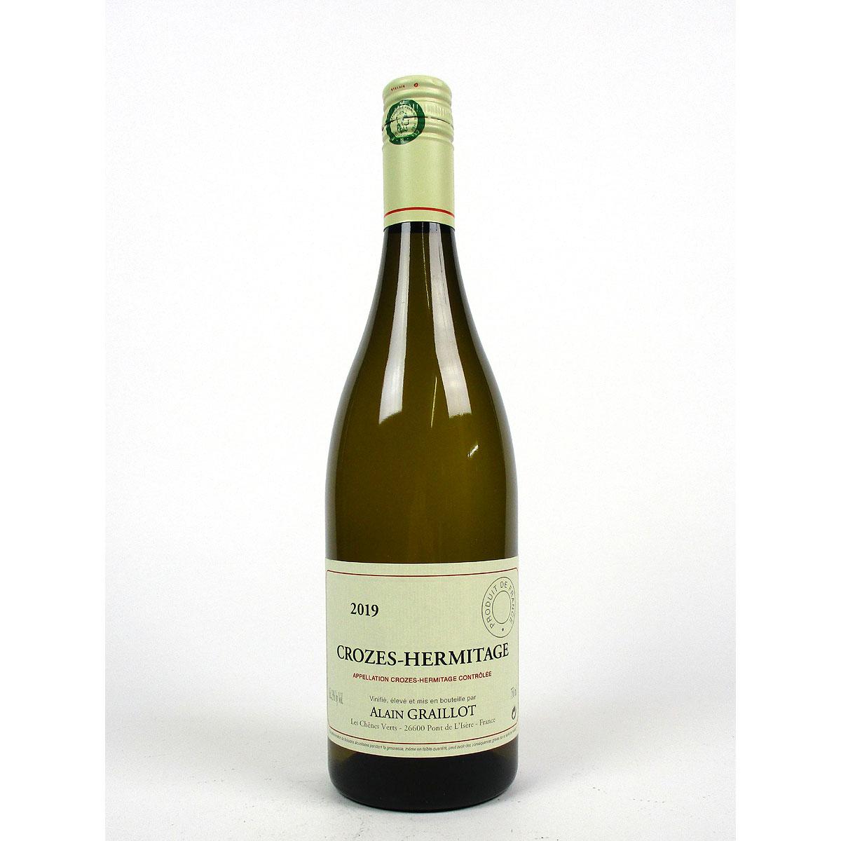 Crozes-Hermitage: Alain Graillot Blanc 2019 - Bottle
