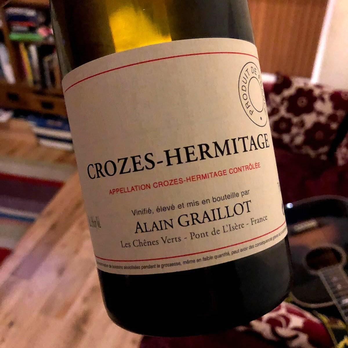 Crozes Hermitage Blanc: Alain Graillot 2018 - Lifestyle