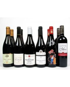 'Lighter Reds for Summer Chilling' Mixed Case Wine Offer