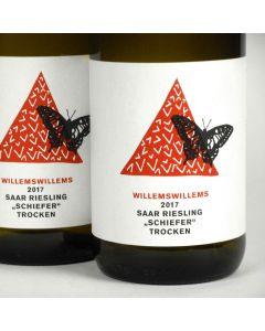 Saar: Willems-Willems Riesling 'Schiefer' 2017