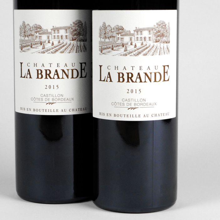 AOC Castillon Côtes de Bordeaux: Château La Brande 2015