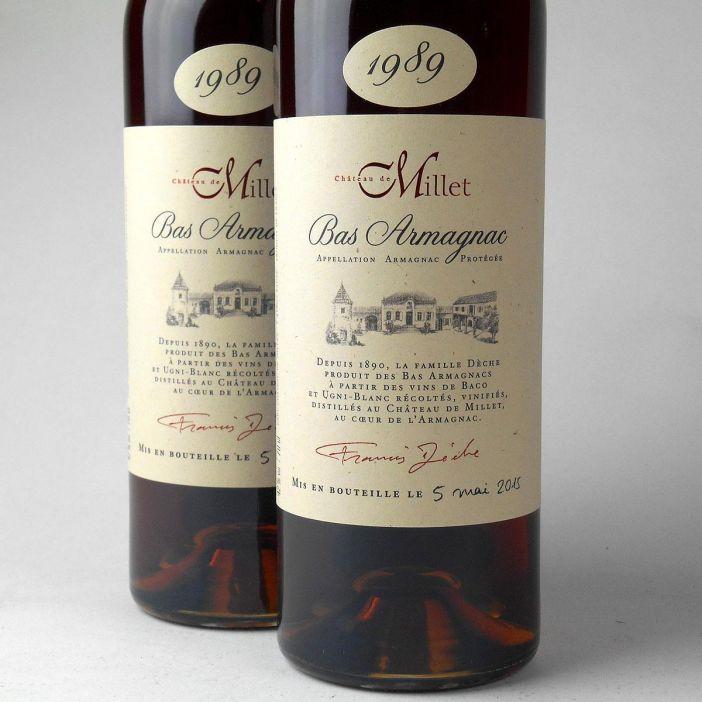 Bas Armagnac - Château de Millet 1989