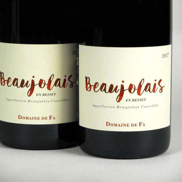 Beaujolais en Besset: Domaine de Fa 2017