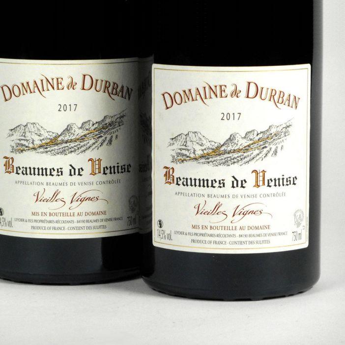 Beaumes de Venise: Domaine de Durban 'Vielles Vignes' 2017