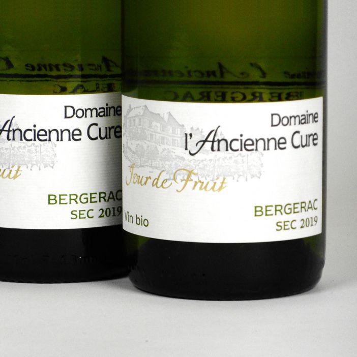 Bergerac: Domaine l'Ancienne Cure 'Jour de Fruit' Blanc Sec 2019