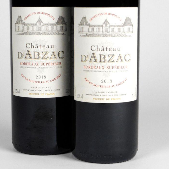 Bordeaux Supérieur: Château d'Abzac 2018
