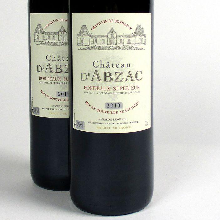 Bordeaux Supérieur: Château d'Abzac 2019