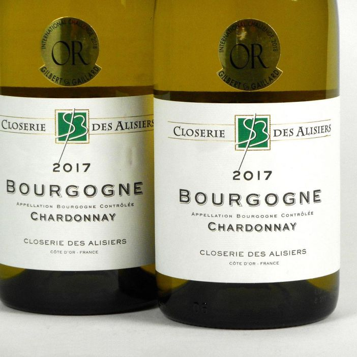 Bourgogne Chardonnay: Closerie des Alisiers 2017