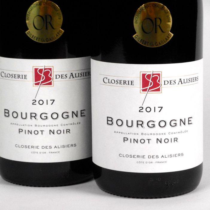 Bourgogne Pinot Noir: Closerie des Alisiers 2017