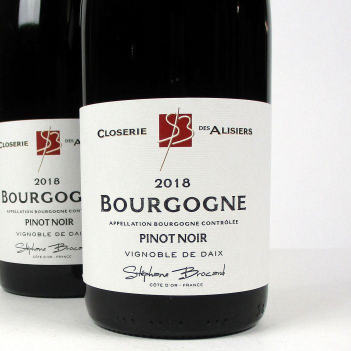 Bourgogne Pinot Noir: Closerie des Alisiers 2018