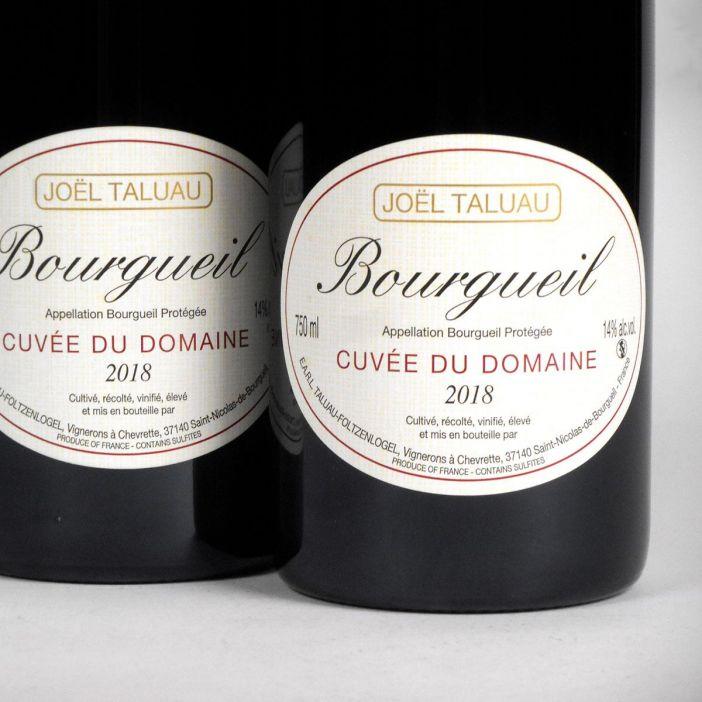 Bourgueil: Domaine Taluau-Foltzenlogel 2018