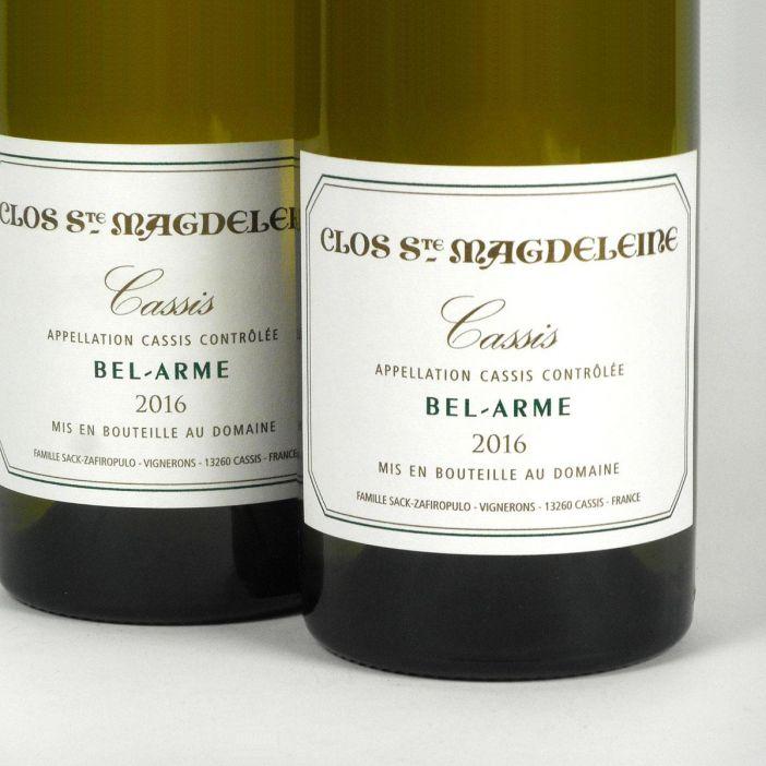 Cassis: Clos Sainte Magdeleine 'Bel-Arme' Blanc 2016