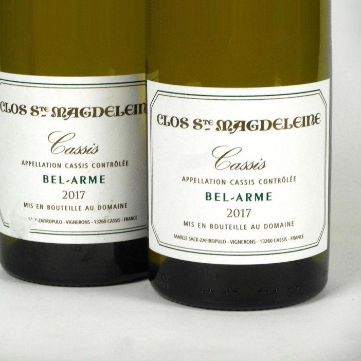 Cassis: Clos Sainte Magdeleine 'Bel-Arme' Blanc 2017