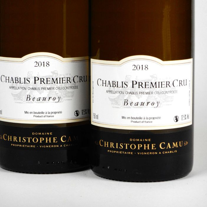 Chablis: Domaine Christophe Camu 'Beauroy' Premier Cru 2018