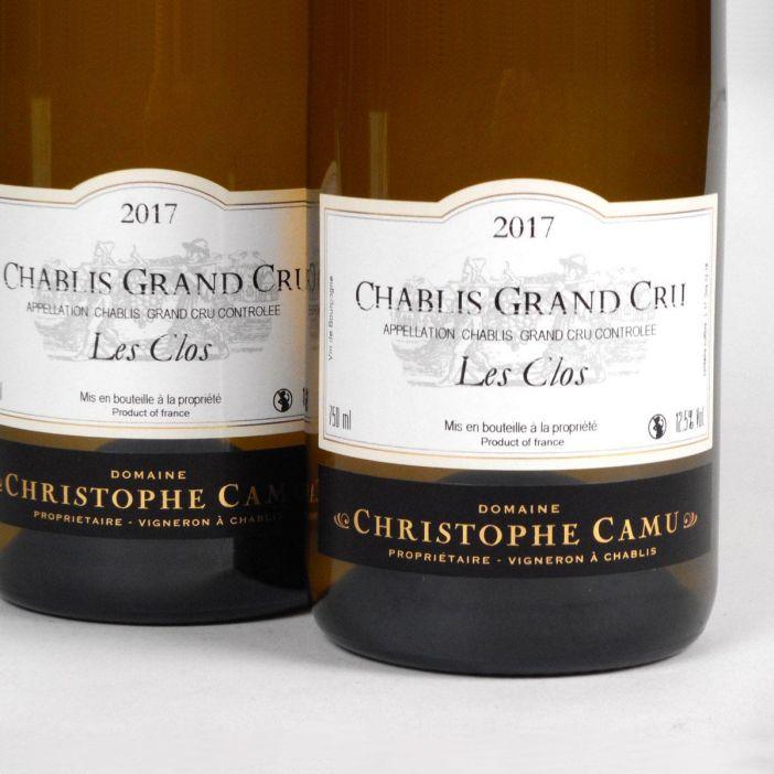Chablis: Domaine Christophe Camu Grand Cru 'Les Clos' 2017
