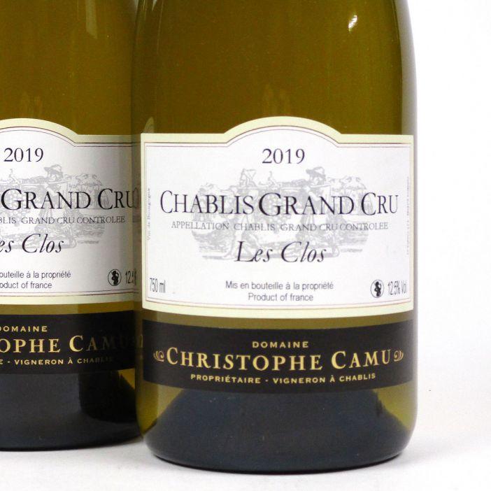 Chablis: Domaine Christophe Camu Grand Cru 'Les Clos' 2019