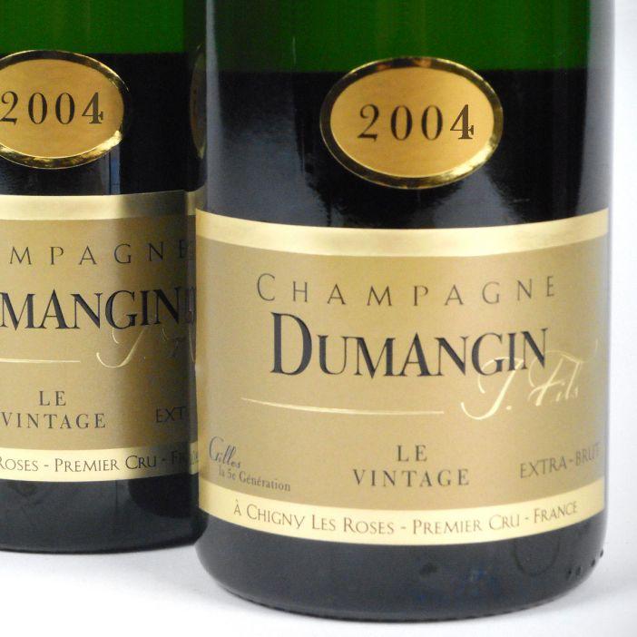 Champagne: Dumangin Fils. Premier Cru Brut Vintage 2004