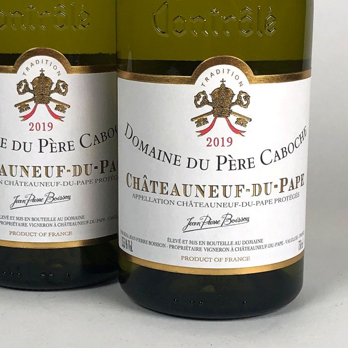 Châteauneuf du Pape: Domaine du Père Caboche Blanc 2019