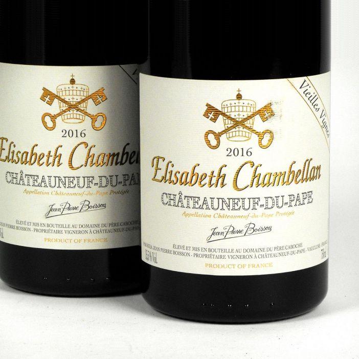 Châteauneuf du Pape: Domaine du Père Caboche - Elisabeth Chambellan 2016