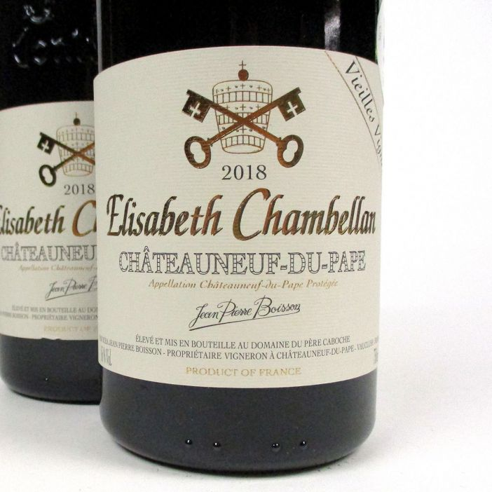 Châteauneuf-du-Pape: Domaine du Père Caboche 'Elisabeth Chambellan' 2018