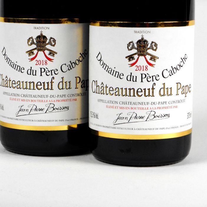 Châteauneuf du Pape: Domaine du Père Caboche Rouge 2018