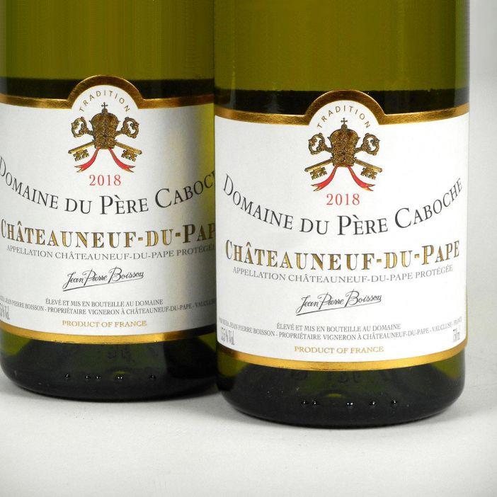 Châteauneuf du Pape: Domaine du Père Caboche Blanc 2018