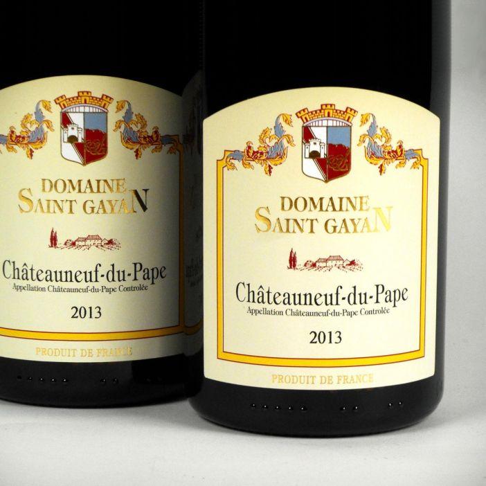 Châteauneuf du Pape: Domaine Saint Gayan 2013