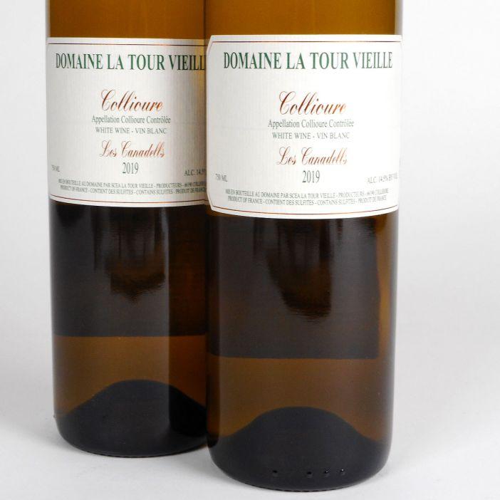Collioure: Domaine La Tour Vieille 'Les Canadells' 2019