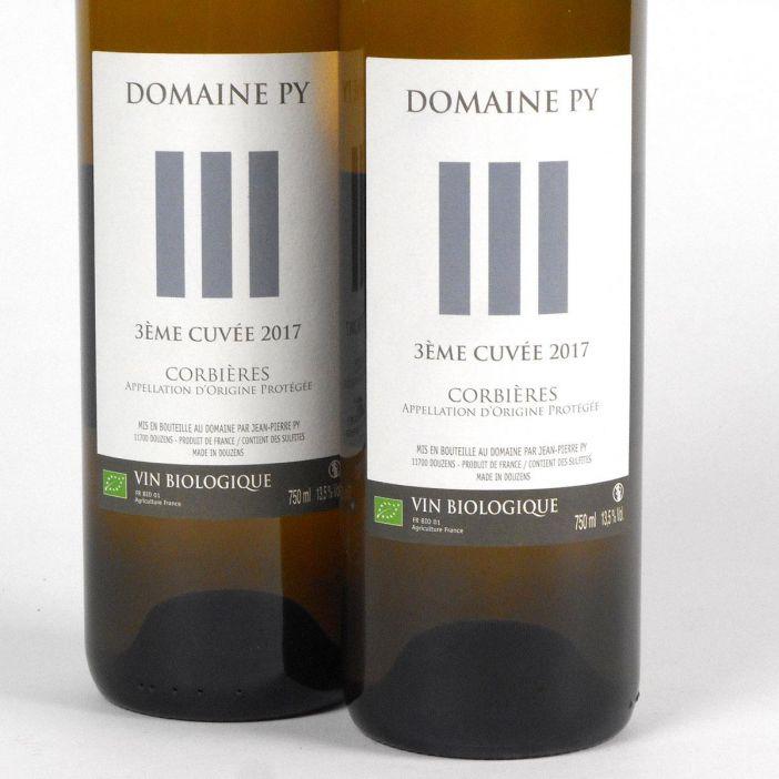 Corbières: Domaine Py '3ème Cuvée' Blanc 2017