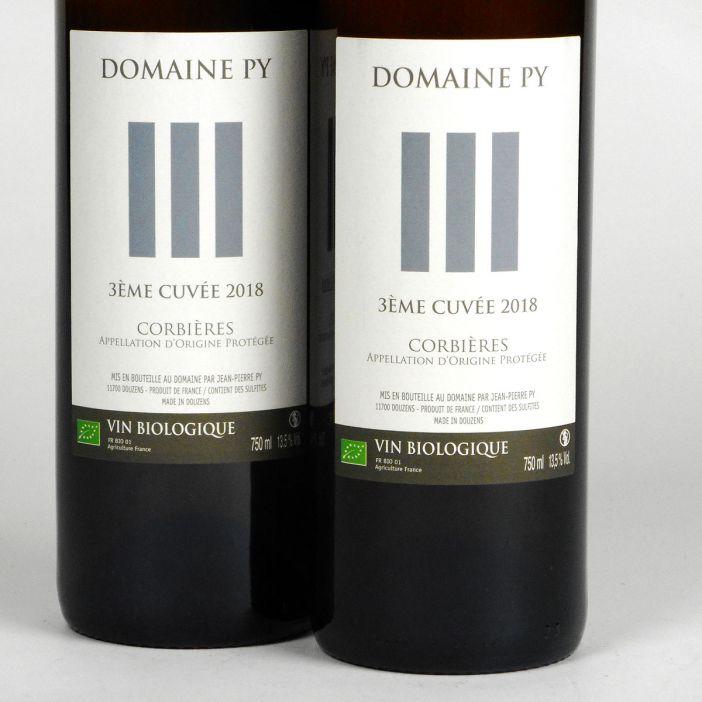 Corbières: Domaine Py '3ème Cuvée' Blanc 2018