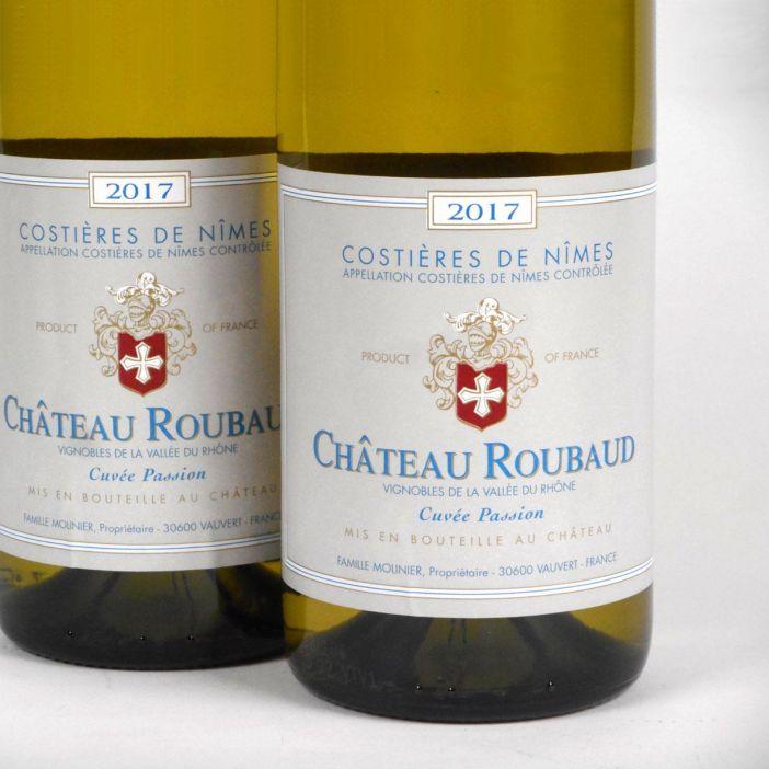 Costières de Nîmes: Château Roubaud Blanc 2017