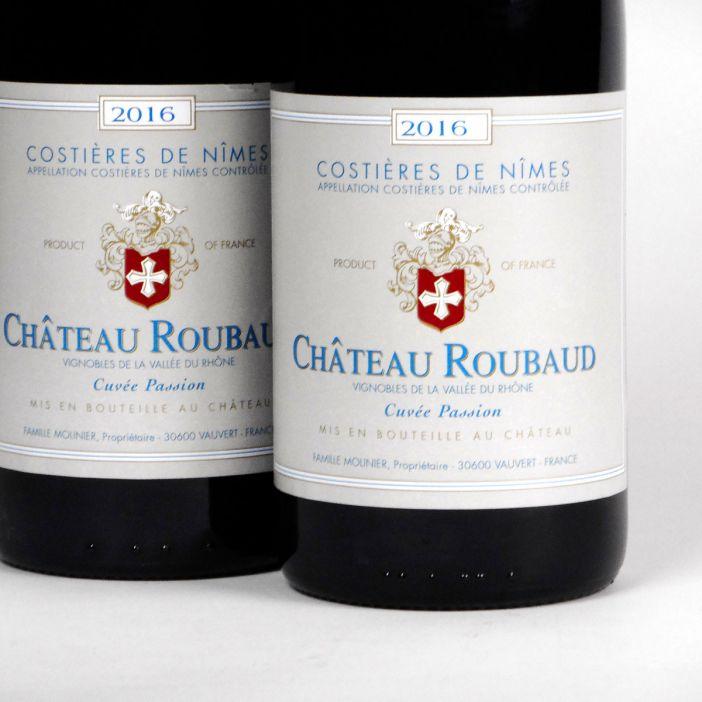 Costières de Nîmes: Château Roubaud 'Cuvée Passion' Rouge 2016