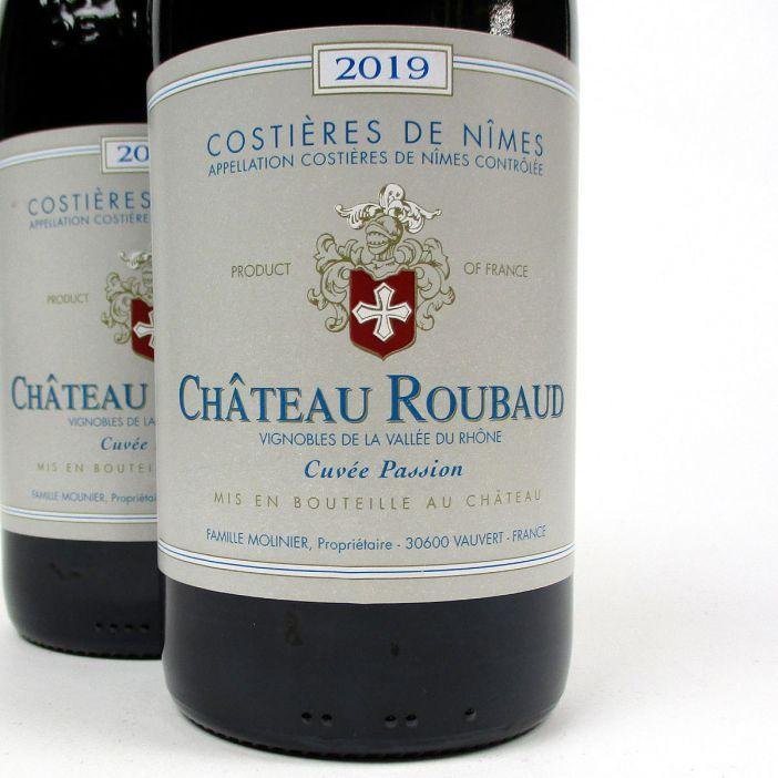 Costières de Nîmes: Château Roubaud 'Cuvée Passion' Rouge 2019