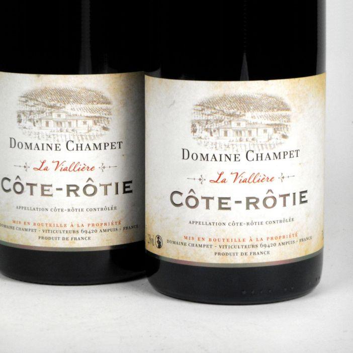 Côte Rôtie: Domaine Champet 'La Viallière' 2016
