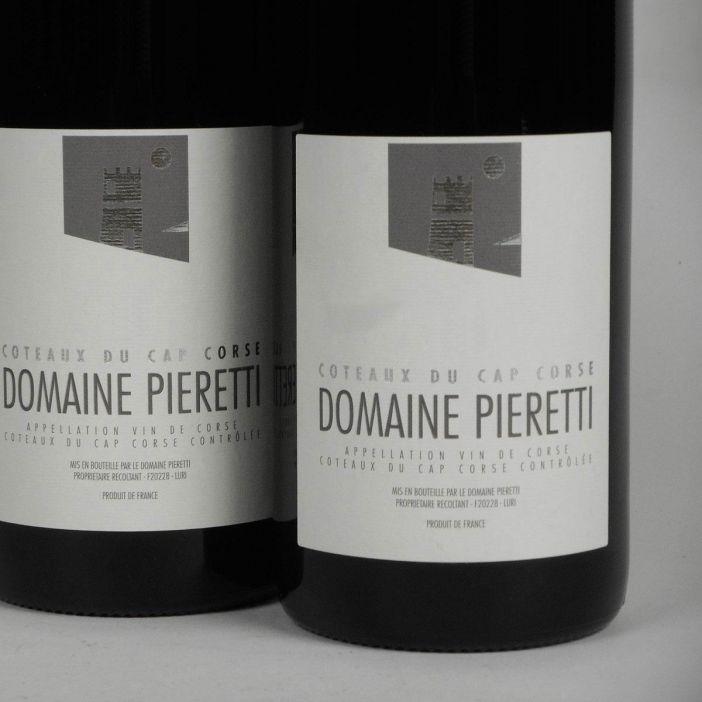 Coteaux du Cap Corse: Domaine Pieretti Rouge 2018