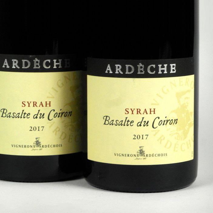 Coteaux de l'Ardèche: 'Basalte du Coiron' Syrah 2017