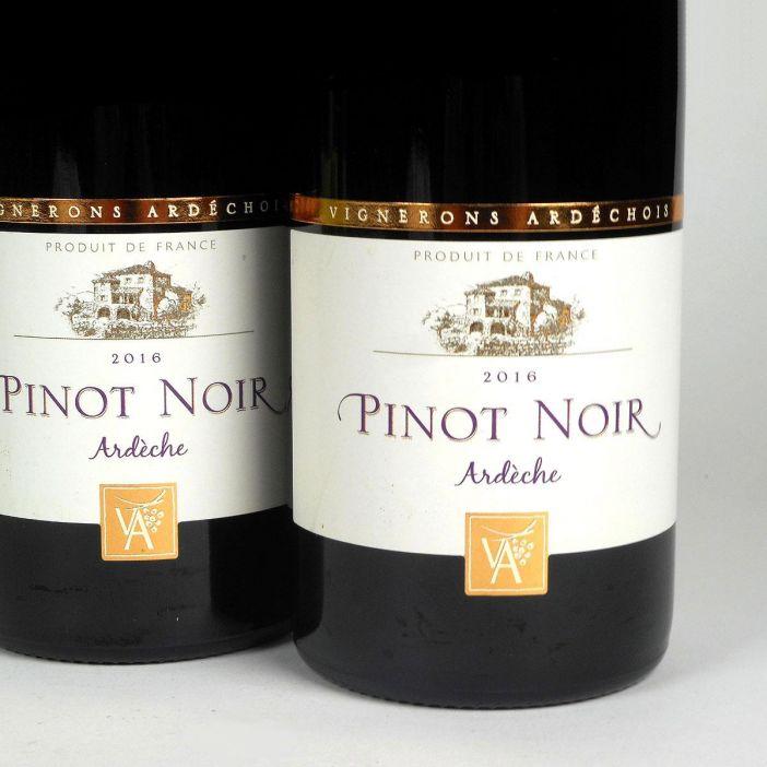 Coteaux de l'Ardèche: Cépage Pinot Noir 2016